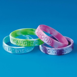 Caught Doing Good Silicone Bracelet