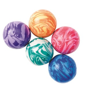 Psychedelic High Bounce Balls