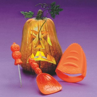 Create fun, quirky Jack-O-Lanterns!