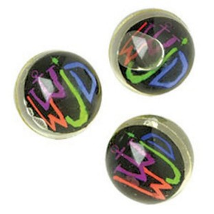 WWJD HIGH BOUNCE BALL PK12