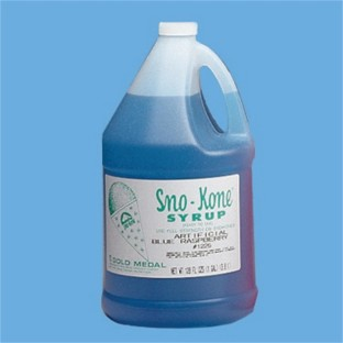 Blue Raspberry Sno-Kone® Syrup, Gallons