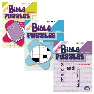 BIBLE PUZZLE BOOKS SET OF 3