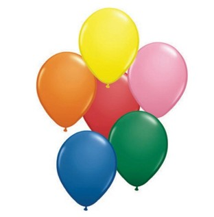 Quality Balloons in a Colorful Assortment.
