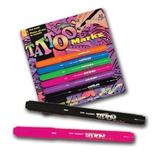 TATTOO MARKERS PACK OF 6