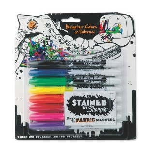 Sharpie® Brush Fabric Markers