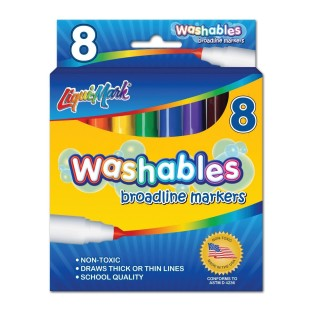 Liqui-Mark® Washables Markers
