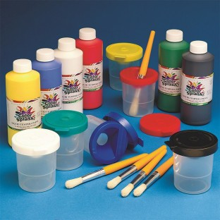 Color Splash!® Liquid Tempera Paint 16 oz. Easy Pack, Assorted