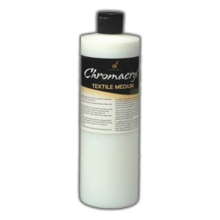 Chromacrylic Textile Medium, 16-oz.