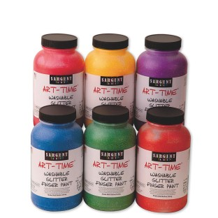 Sargent Art® Washable Glitter Finger Paint 16-oz.