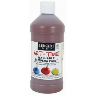 SARGENT WASH TEMPERA 16OZ BROWN