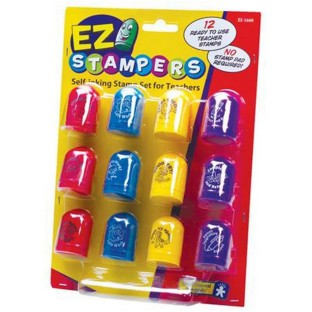 EZ Stampers Self-Inking Teacher Stamp Set