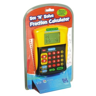 See 'N' Solve Fraction Calculator