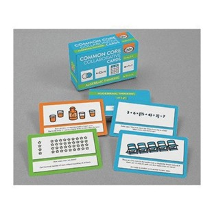 Common Core Collaborative Cards For Algebra