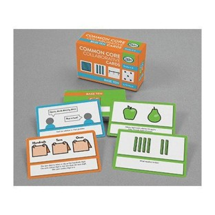 Common Core Collaborative Cards for Base 10