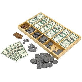 Melissa & Doug® Play Money Set