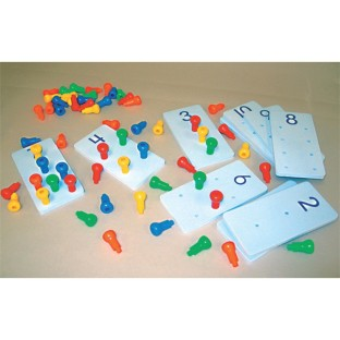 PEG IT NUMBER BOARDS SET OF 10