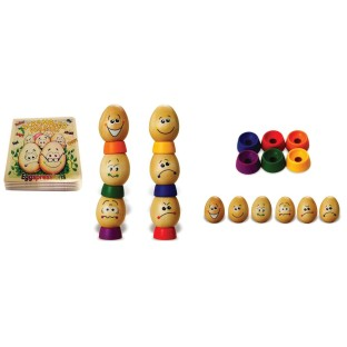 EGGSPRESSIONS STORYBOOK AND EGG SET