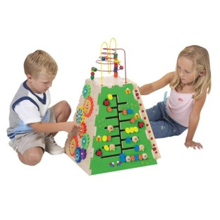 Great for eye-hand coordination and cooperative play.