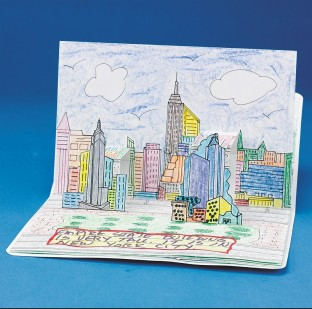 AMERICAN BUILDINGS POPUP BOOKS PK6