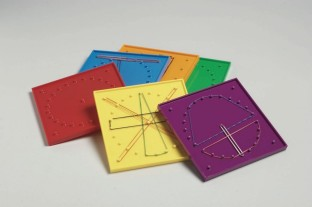 Double-Sided Geoboards
