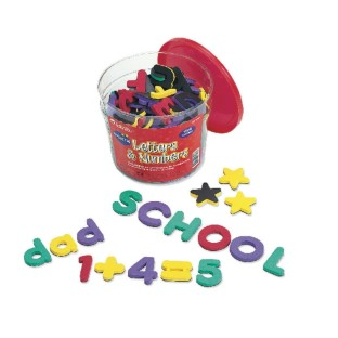 LETTER AND NUMBER  MAGNETIC COMBO SET