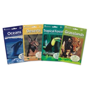 Animal Classifying Cards Bundle