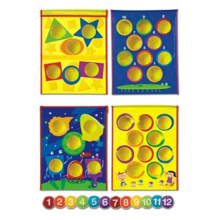 Smart Toss™ Colors, Shapes & Numbers Game