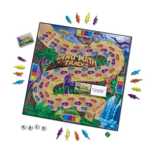 Dino Math Tracks® Place Value Game