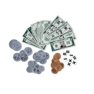MAGNETIC MONEY DEMO SET - 5-10-20 DOLLAR