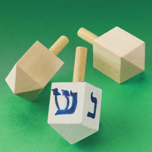 Paint-A-Dreidel Craft Kit