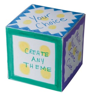 Custom Activity Cubes Craft Kit