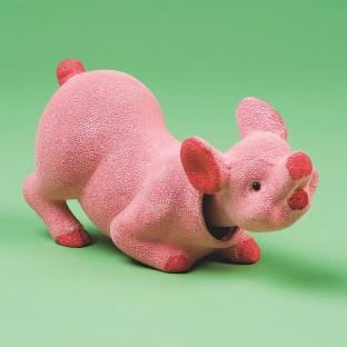 BOBBLE HEAD PIG PK/12
