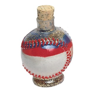 Baseball Sand Art Bottles