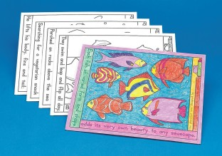 Coloring Placemats - The Deep Blue Sea