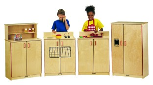 School Age 4-Piece Kitchen Set