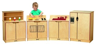 Jonti-Craft® Kinder-Kitchen Toddler Refrigerator