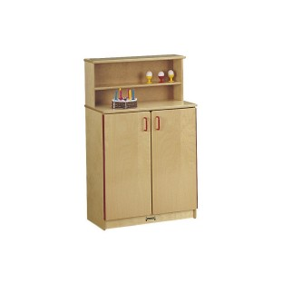 School Age Birch Cupboard