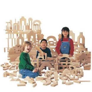 Unit Blocks 170-Piece Set