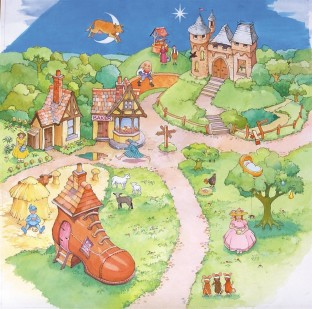 ACTIVE WORLD NURSERY RHYME MAT