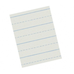 Ruled Composition Paper, 8-1/2