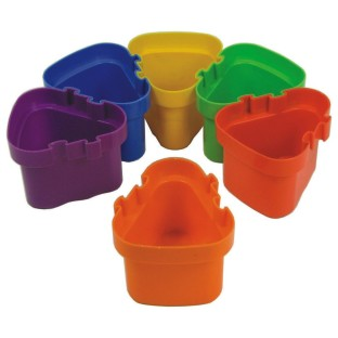 READY 2 LEARN INTERLOCKING PAINT POTS SET/6