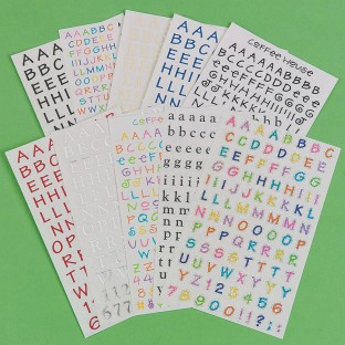 Fun fonts to dress up scrapbooks!
