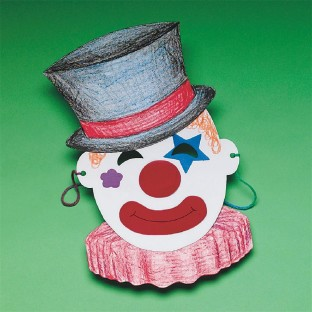 Clown Mask Craft Kit