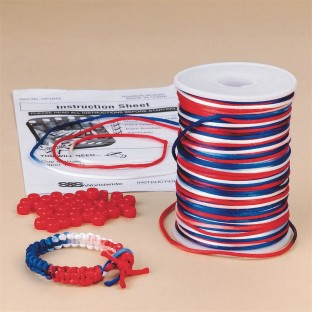Patriotic Bracelet Craft Kit