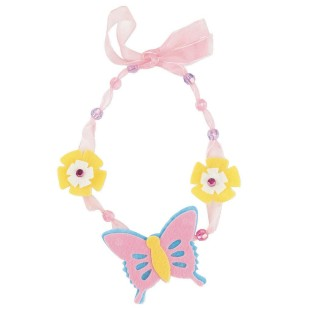 Felt Butterfly Necklace Craft Kit