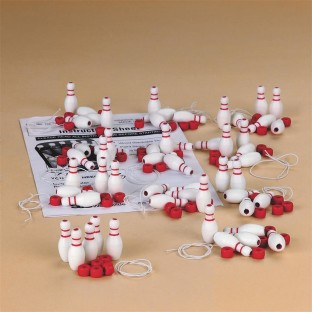 BOWLING PIN BRACELET KIT PK/12