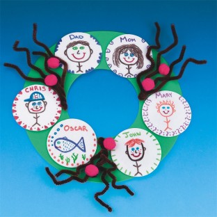 Family Wreath Craft Kit