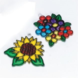 FLOWER SUNCATCHER PK/12