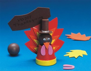 Foam Turkeys Craft Kit
