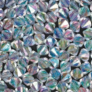Faux Crystal Beads 1/2-lb Bag
